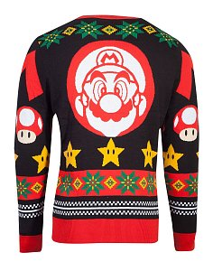 Nintendo Knitted Christmas Sweater Super Mario - 2