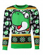 Nintendo Knitted Christmas Sweater Super Mario Yoshi