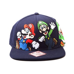 Nintendo Kšiltovka Super Mario Tým - 1