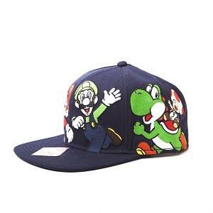 Nintendo Kšiltovka Super Mario Tým - 3