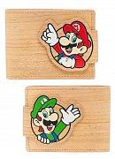 Nintendo Peněženka Woodgrain Snap
