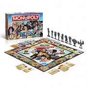One Piece Board Game Monopoly *German Version* --- DAMAGED PACKAGING