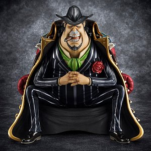 One Piece Excellent Model P.O.P S.O.C PVC Statue 1/8 Capone Gang Bege 14 cm - 1