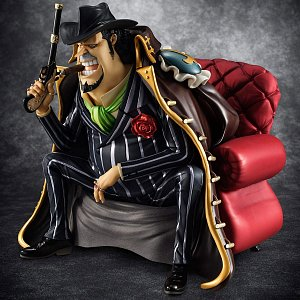 One Piece Excellent Model P.O.P S.O.C PVC Statue 1/8 Capone Gang Bege 14 cm - 2
