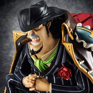 One Piece Excellent Model P.O.P S.O.C PVC Statue 1/8 Capone Gang Bege 14 cm - 3