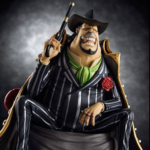 One Piece Excellent Model P.O.P S.O.C PVC Statue 1/8 Capone Gang Bege 14 cm - 6
