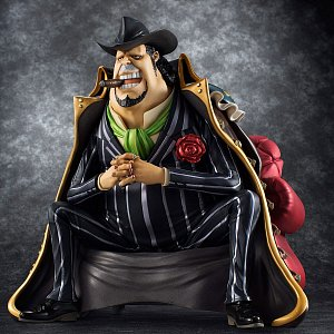 One Piece Excellent Model P.O.P S.O.C PVC Statue 1/8 Capone Gang Bege 14 cm - 7