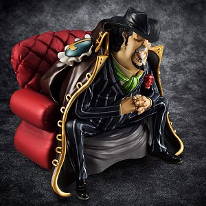 One Piece Excellent Model P.O.P S.O.C PVC Statue 1/8 Capone Gang Bege 14 cm - 9