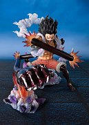 One Piece FiguartsZERO PVC Statue Monkey D. Luffy Gear 4 Snakeman King Cobra 16 cm --- DAMAGED PACKAGING