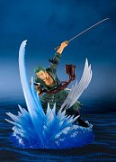 One Piece FiguartsZERO PVC Statue Roronoa Zoro (Yakkodori) 19 cm --- DAMAGED PACKAGING
