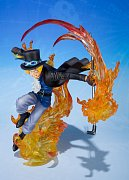 One Piece FiguartsZERO PVC Statue Sabo Fire Fist 19 cm