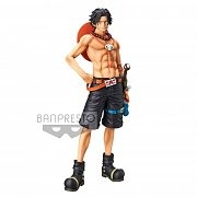 One Piece Grandista Resolution of Soldiers PVC Statue Portgas D. Ace 28 cm