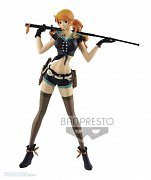 One Piece Stampede Flag Diamond Ship PVC Statue Nami 25 cm
