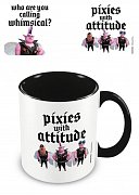 Onward Coloured Inner Mug Pixies With Attitude