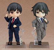 Original Character Parts for Nendoroid Doll Figures Outfit Set (Suit - Grey)