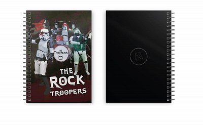 Original Stormtrooper Notebook Rock Troopers