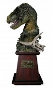 Paleontology World Museum Collection Series Bust Tyrannosaurus Rex Green Ver. 40 cm --- DAMAGED PACKAGING