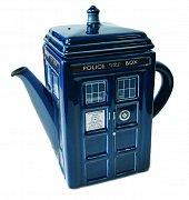 Pán času Konvička na čaj Tardis (modrá)
