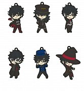 Persona 5 Dancing In The Starlight Nendoroid Plus PVC Keychain 6-Pack 6 cm