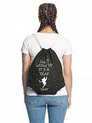 Peter Pan Gym Bag Tinkerbell Don\'t Grow Up
