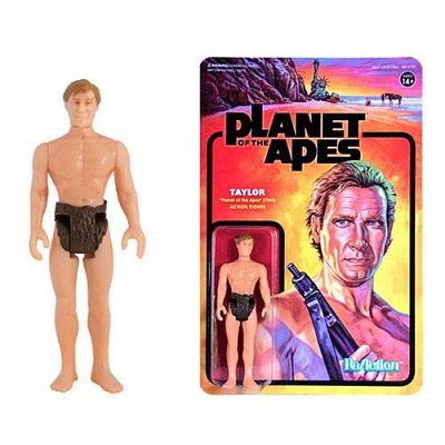 Planet of the Apes ReAction Action Figure Taylor 10 cm