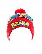 Pokemon čepice Logo & Pikachu