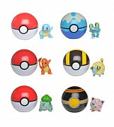 Pokémon Clip \'N\' Go Pokéball Wave 4 Assortment (6)