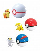 Pokemon Clip´n´Carry Poké Ball Wave D12 Assortment (6)