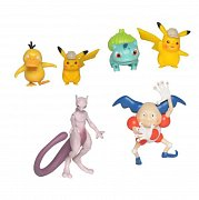 Pokémon: Detective Pikachu Battle Mini Figures Packs 5-7 cm Assortment (6)