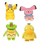 Pokémon: Detective Pikachu Plush Figures 20 cm Display (6)