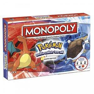 Pokemon MONOPOLY *STOLNÍ HRA V angličtině* - 2