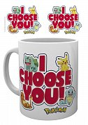 Pokemon Mug I Choose You --- DAMAGED PACKAGING