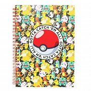 Pokemon Notebook A5 Pikachu
