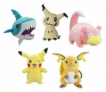 Pokémon Plush Figures 30 cm Wave 3 Assortment (6)