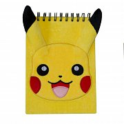 Pokemon Plush Notebook A5 Pikachu