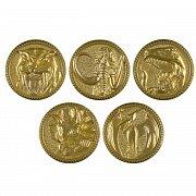 Power Rangers Legacy Die-Cast Premium Power Coin Set
