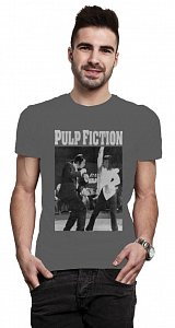 Pulp Fiction T-Shirt Dancing Poster - 1