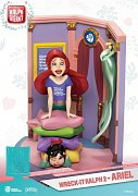 Ralph Breaks the Internet D-Stage PVC Diorama Ariel & Vanellope 15 cm