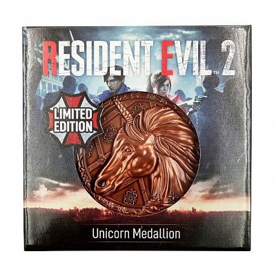 Resident Evil 2 Replica 1/1 Unicorn Medallion