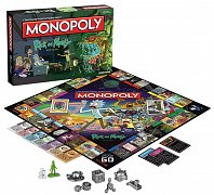 Rick and Morty Board Game Monopoly *French Version*