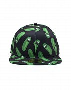Rick and Morty Embroidery Snapback Cap Pickle Rick