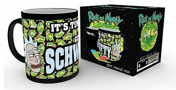 Rick and Morty Heat Change Mug Get Schwifty