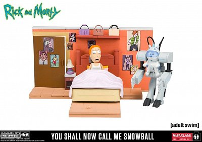 Rick and Morty Medium Construction Set You Shall Now Call Me Snowball --- DAMAGED PACKAGING