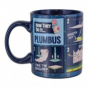 Rick & Morty Heat Change Mug Plumbus Instruction
