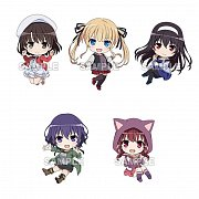 Saekano: How to Raise a Boring Girlfriend Fine Nendoroid Plus PVC Keychain 5-Pack Vol. 1 6 cm