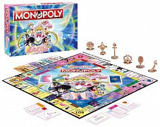 Sailor Moon Board Game Monopoly *German Version* --- DAMAGED PACKAGING