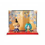 Sailor Moon Petit Chara Mini Figure 2 Set Hinamatsuri Haruka & Michiru 6 cm