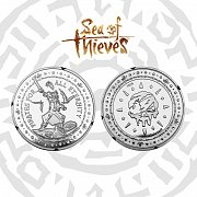 Sea of Thieves Collectable Coin Pirates For All Eternity Silver Edition