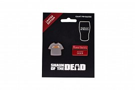 Shaun of the Dead Pin Badge 2-Pack 3 cm