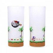 Sonic Drinking Glass 2-Pack Sonic & Eggman